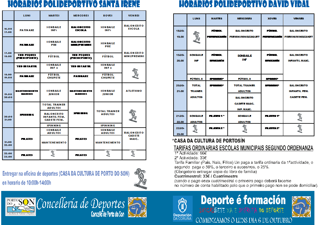 FOLLETO ESCOLAS 2014-2015